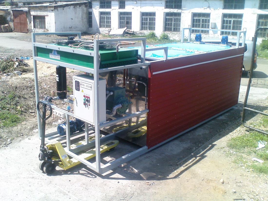 Льдоаккумулятор генератор ледяной